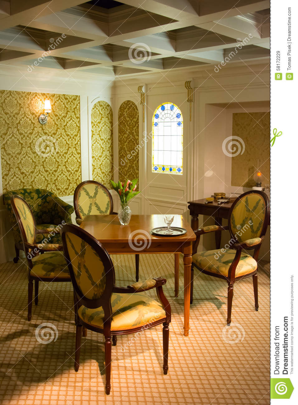 Titanic First Class Cabin Editorial Stock Image Image
