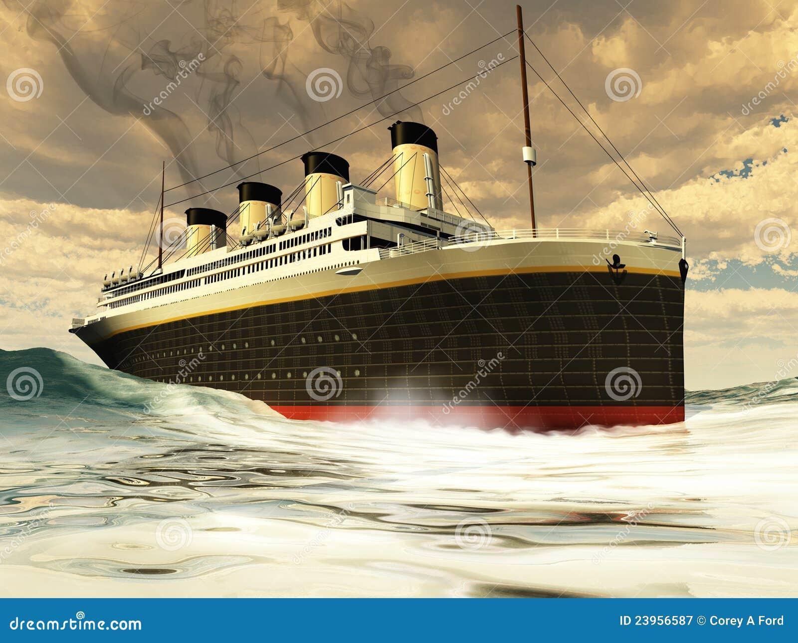Titanic Ship Royalty Free Stock Photography Image 23956587