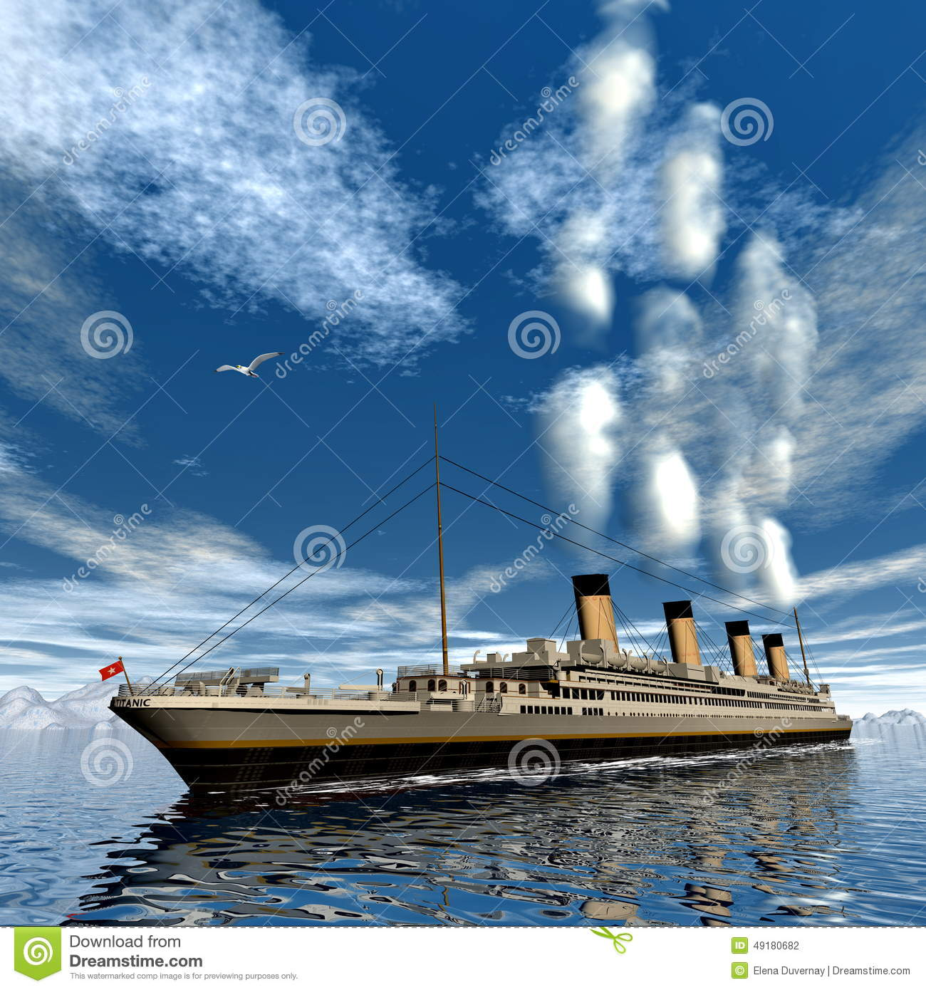 a history of the ship titanic and the cold water While the suction in the water created by the massive ship caused the new   however, historical records and manifests of the titanic show that there was  for  sinking the scorpion, and cold war tensions were high in 1985.