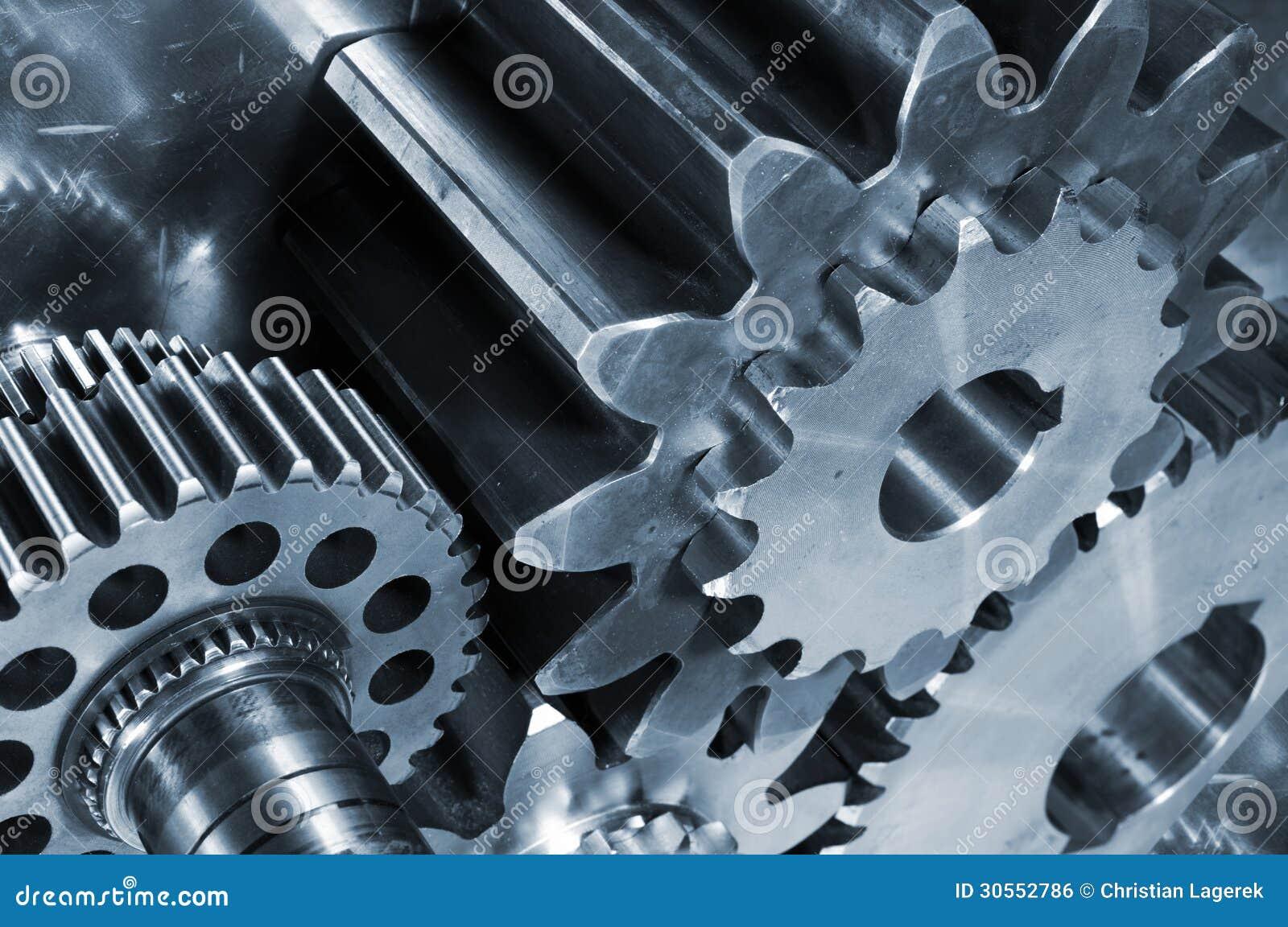 Titanium, stali cogs i przekładnie i