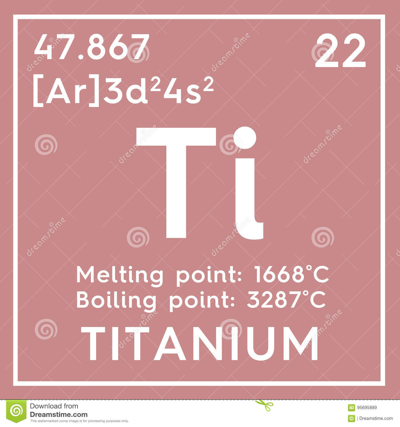 Titanium transition metals chemical element of mendeleev chemical element of mendeleev periodic table gamestrikefo Image collections