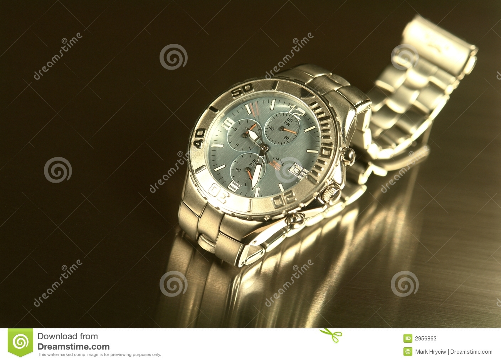 Titanium watch