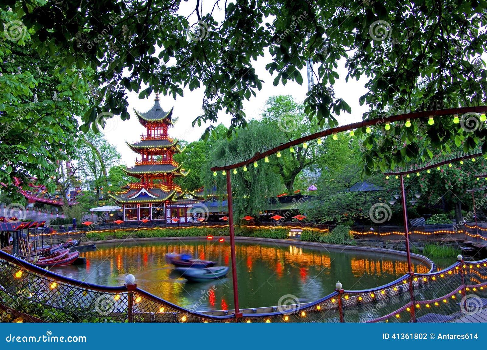 tivoli gardens - Jardins De Tivoli