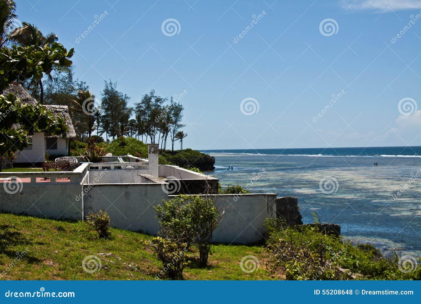 Tiwi-Strand, Kenia