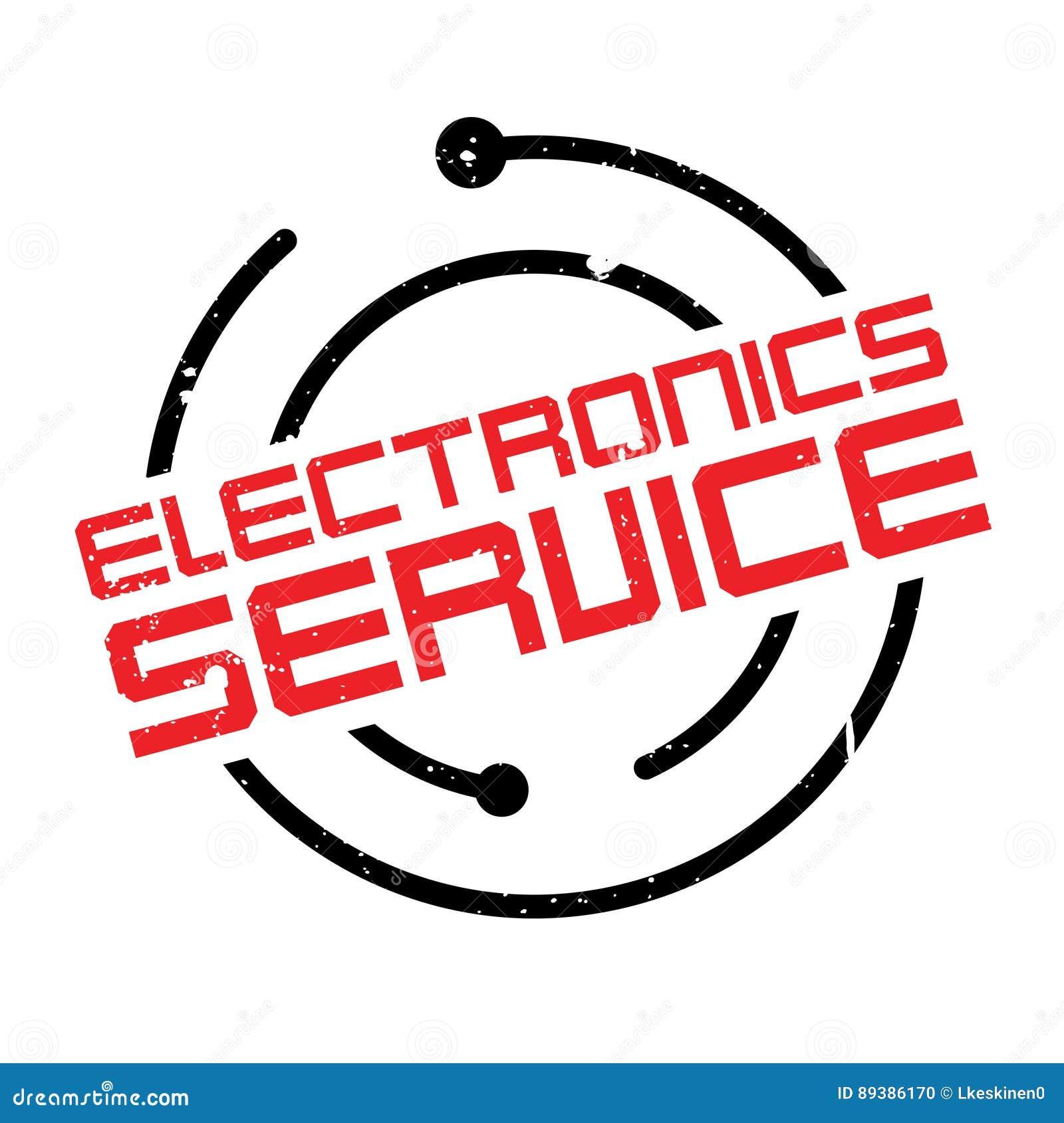 Tjänste- rubber stämpel för elektronik