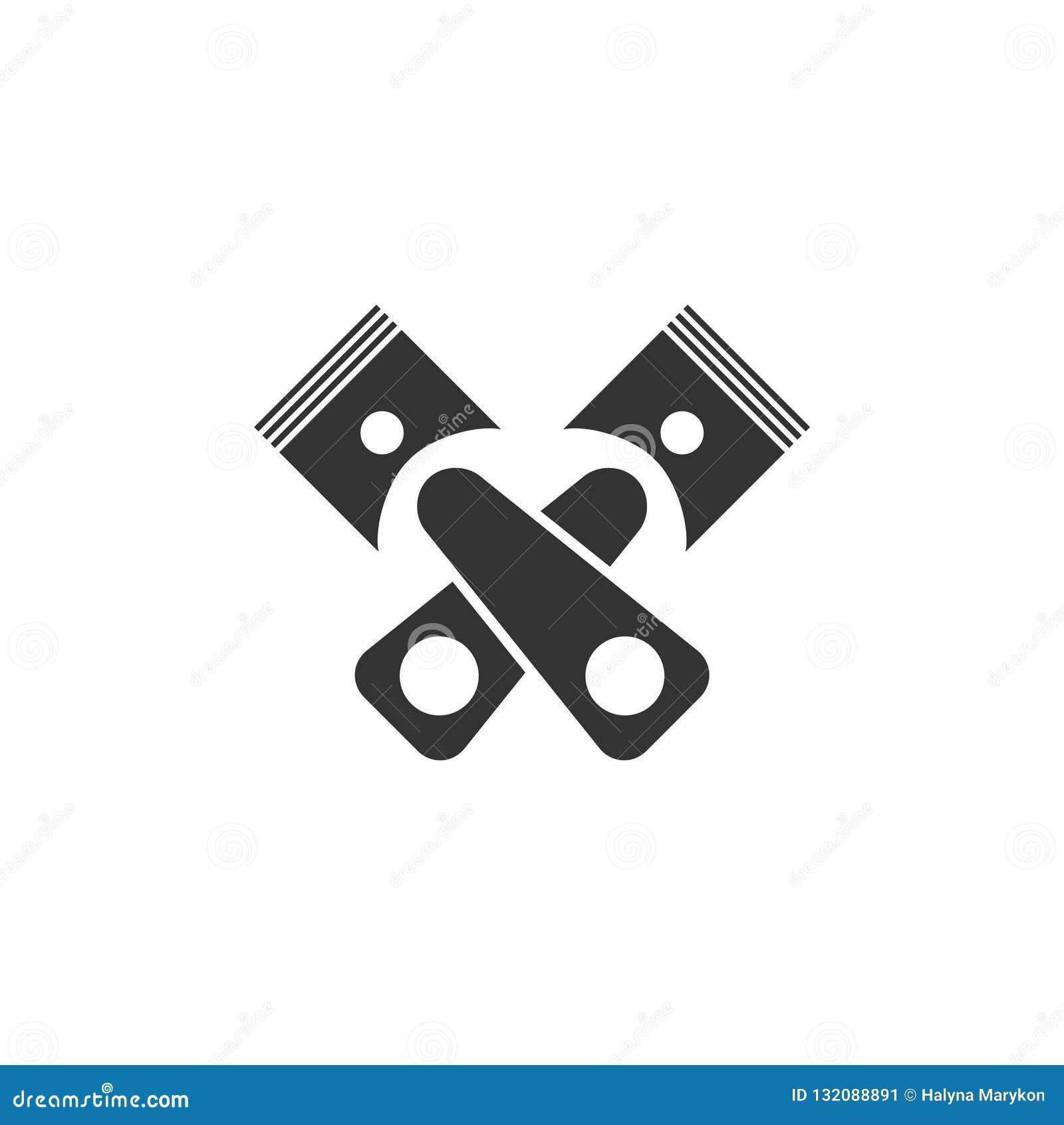 Tjänste- symbolslägenhet för automatisk