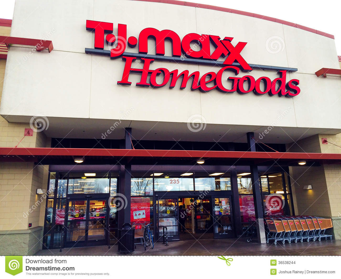 Editorial Stock Photo  Download TJ Maxx Home Goods. TJ Maxx Home Goods Eugene  OR Editorial Stock Image   Image  36538244