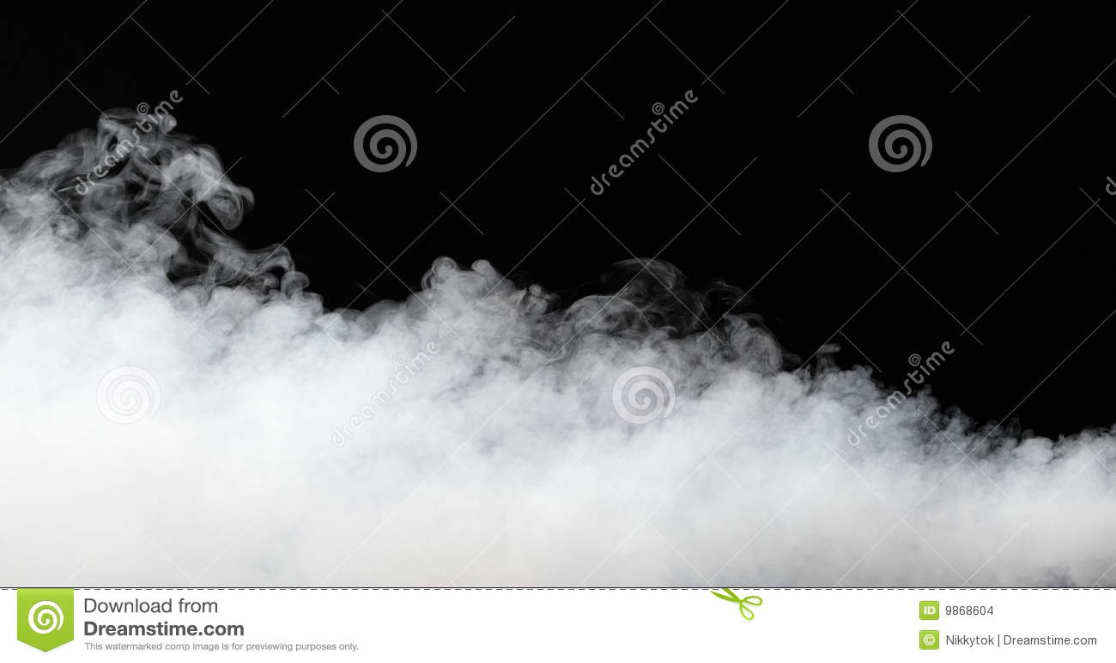 Tjock dimmaström