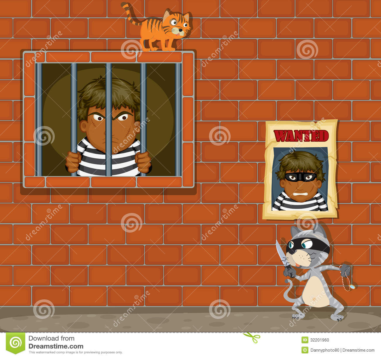 Tjuv i arrest
