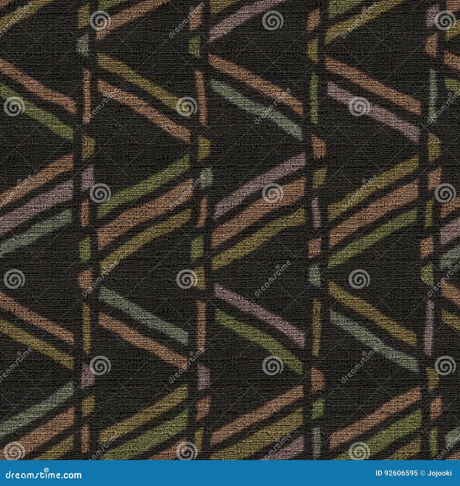 Tkaniny bezszwowa tekstura, etniczny geometryczny i plemienny