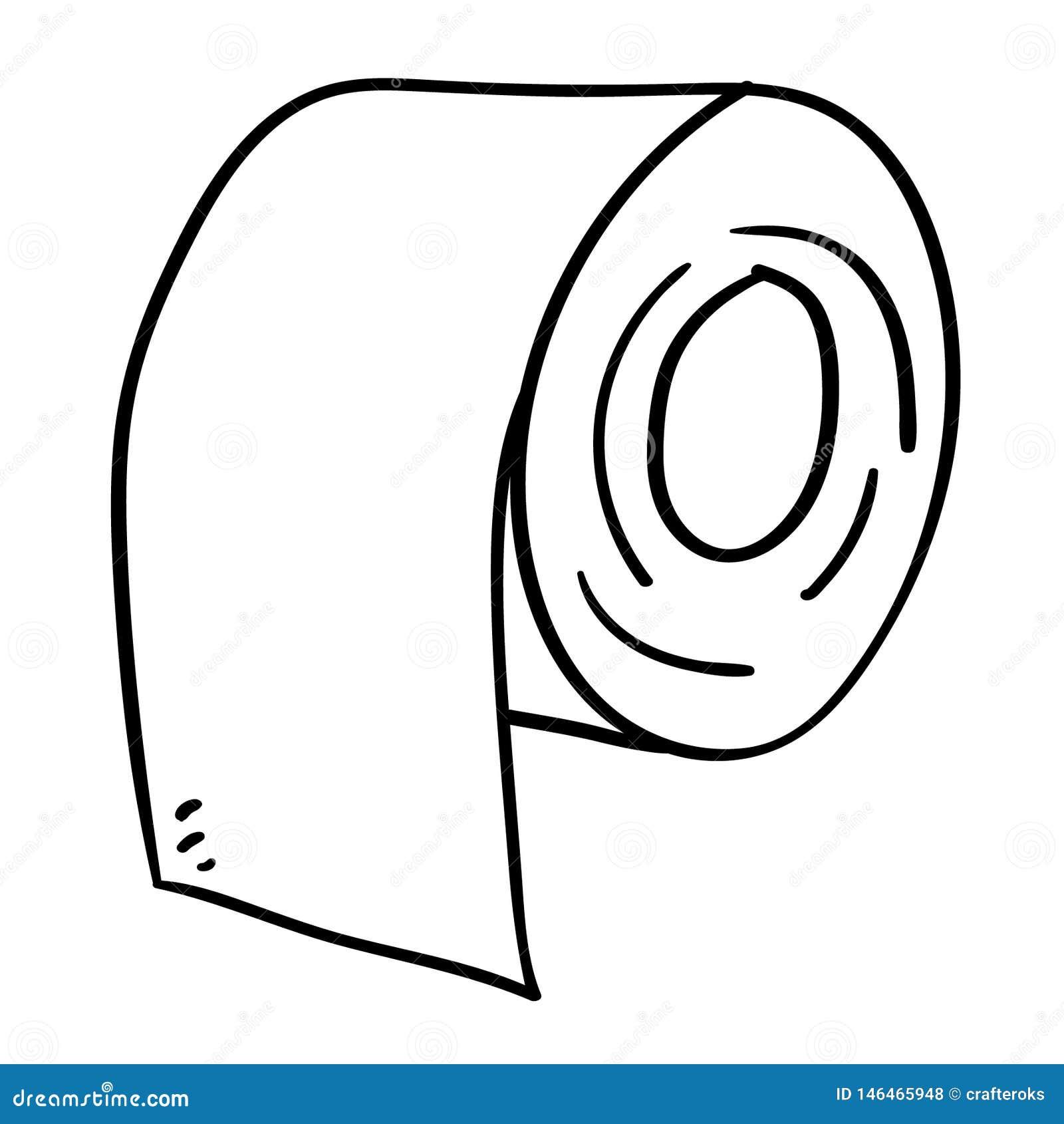 Tkankowego papieru ręka rysująca, wektor, Eps, logo, ikona, sylwetki ilustracja crafteroks dla różnego używa Odwiedza mój stronę