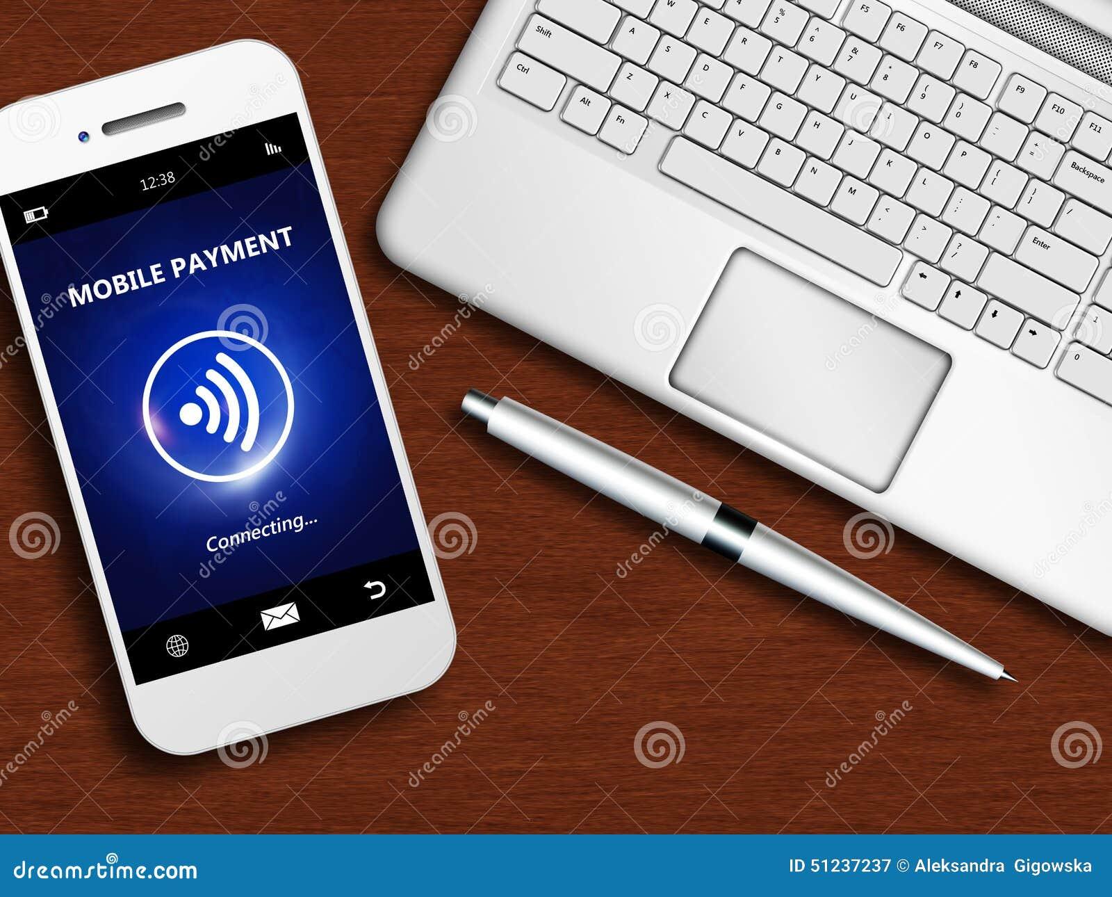 T L Phonez Avec Le Paiement Mobile L 39 Ordinateur Portable