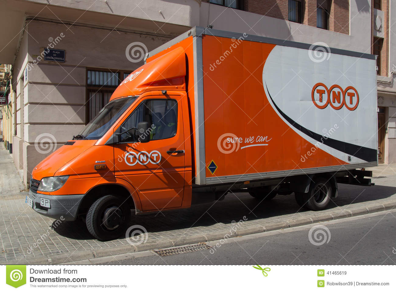 Tnt Auto Sales >> TNT Express Editorial Stock Image - Image: 41465619