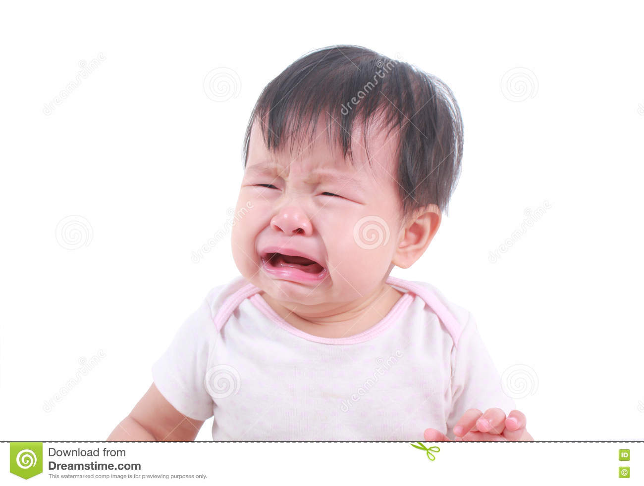 about to cry asian baby girl stock photo image of beauty