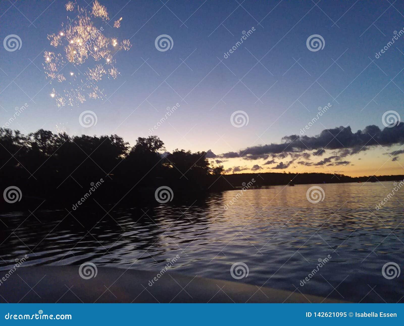 4to de la puesta del sol de julio