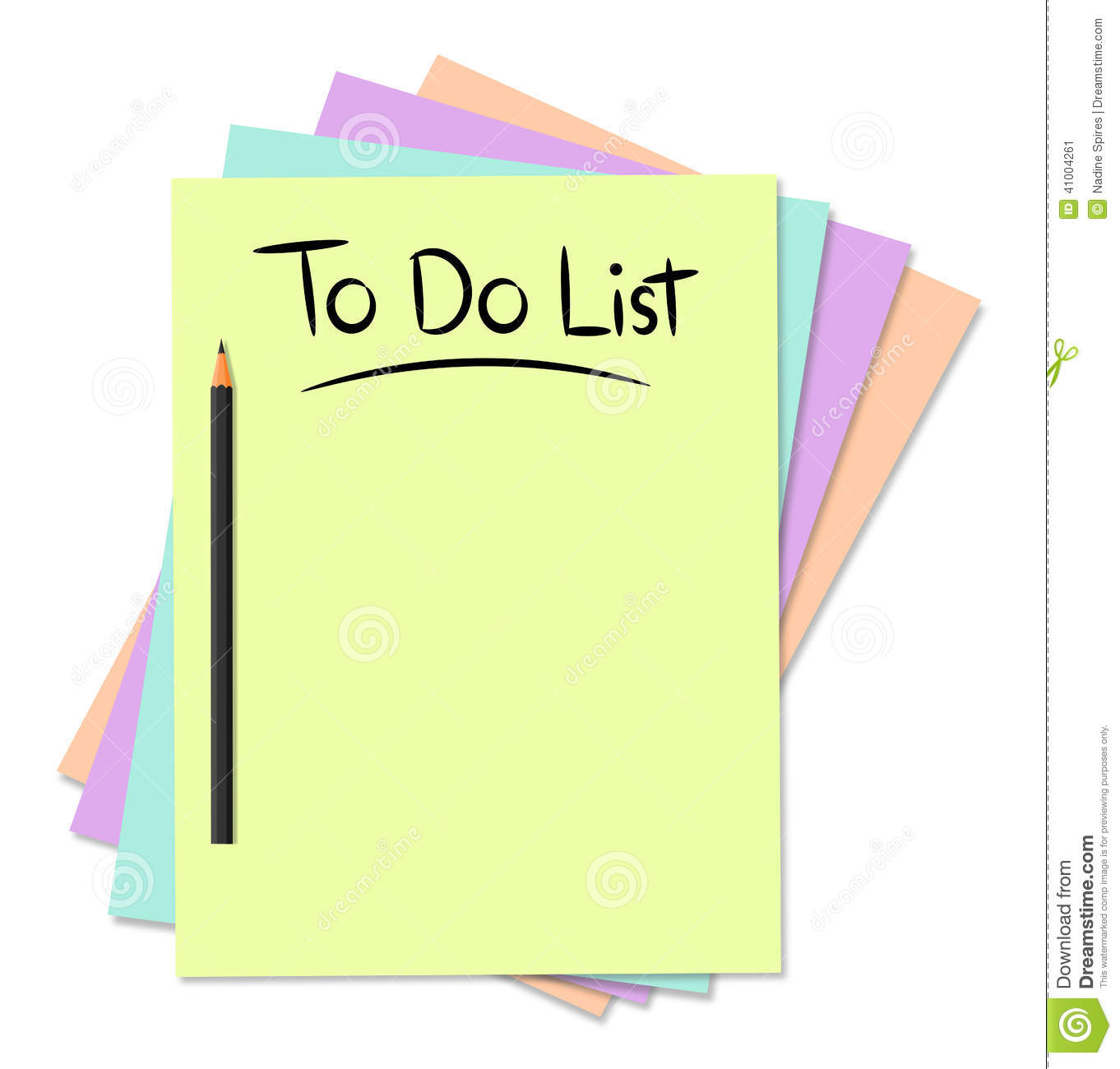 It's just a picture of Slobbery To Do List Images
