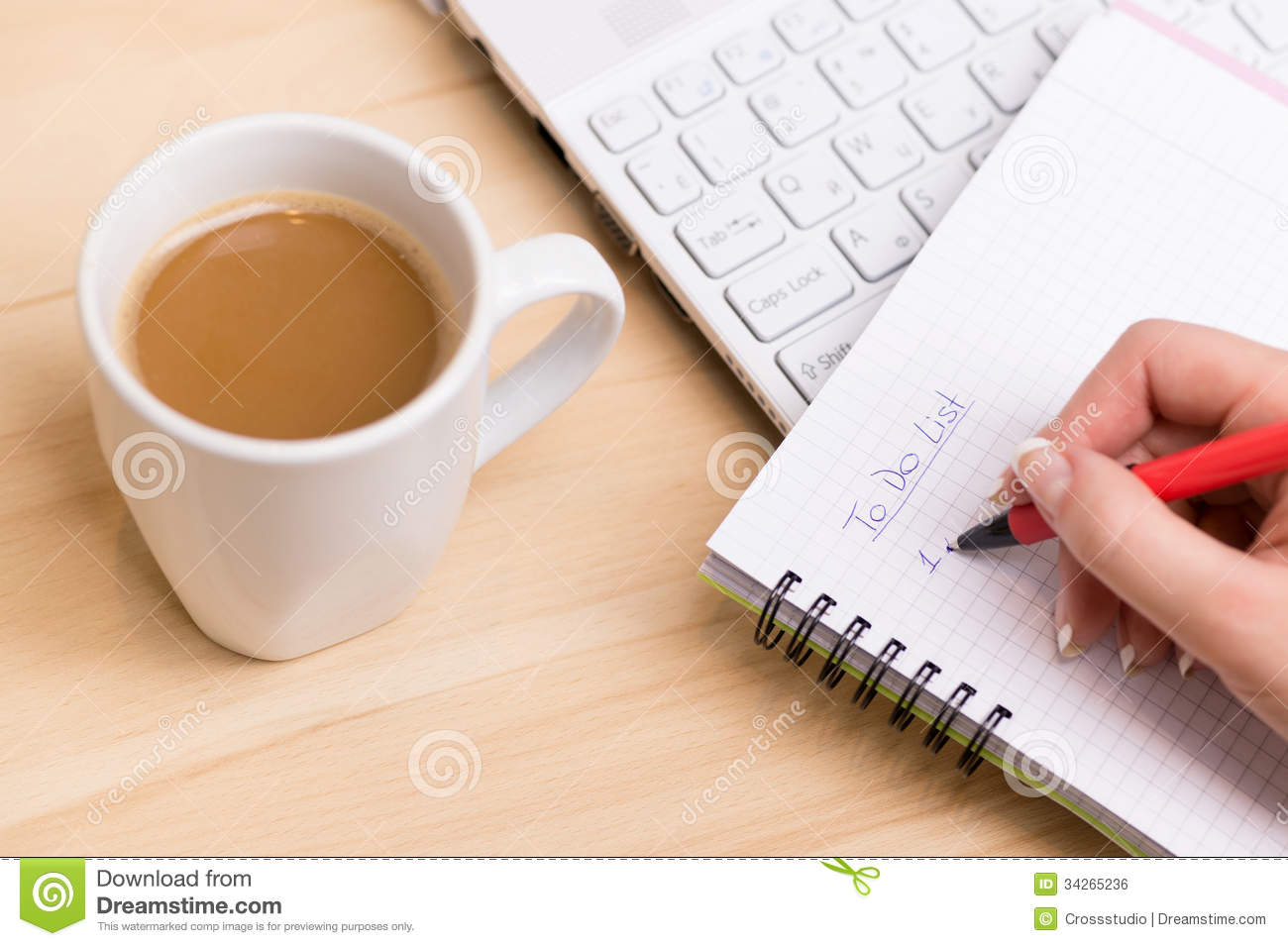 To Do List Royalty Free Stock Image Image 34265236