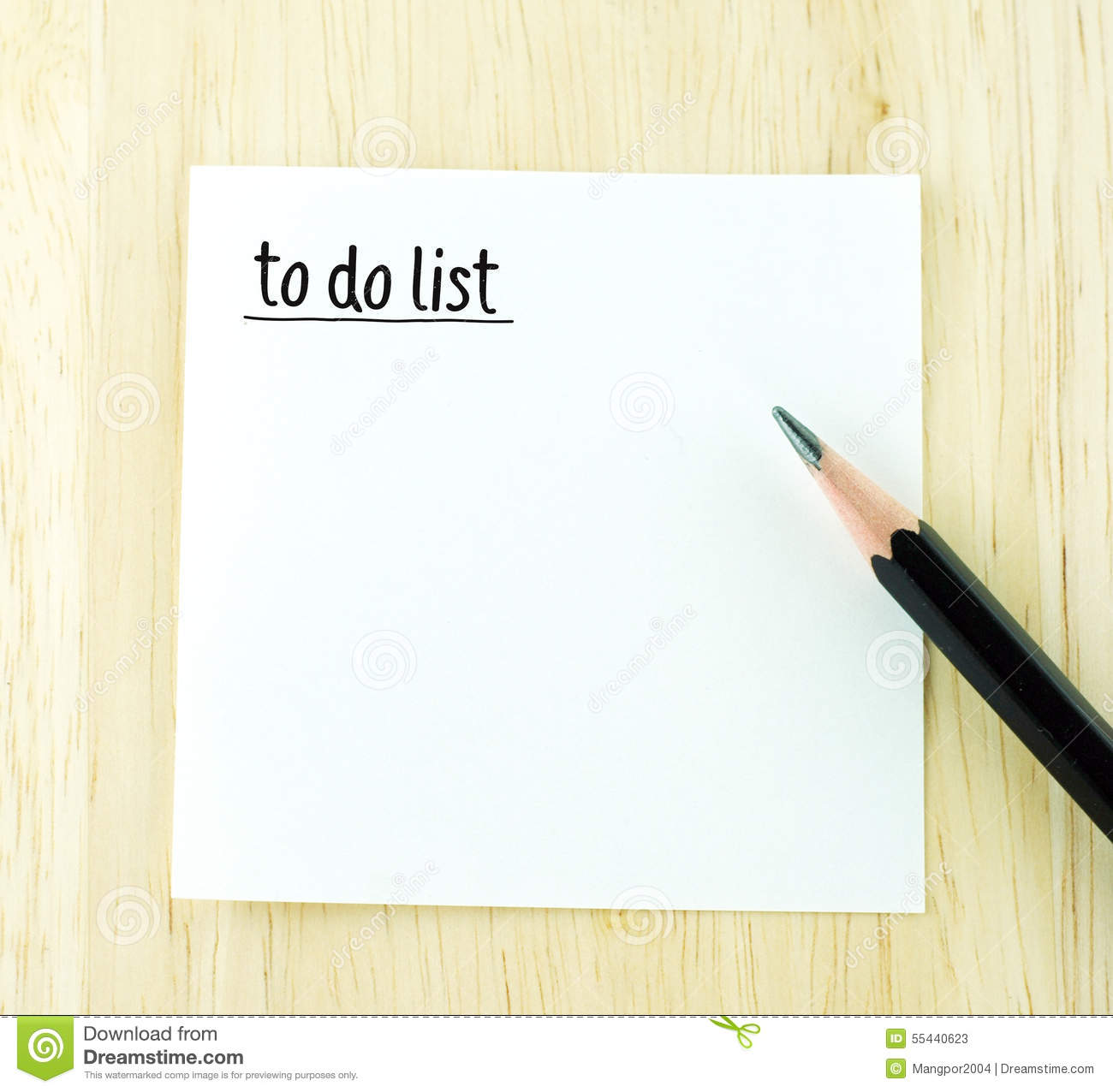 Delightful To Do List Word On Notepad And Pencil On Wood Table Stock Photos  Notepad Template Word