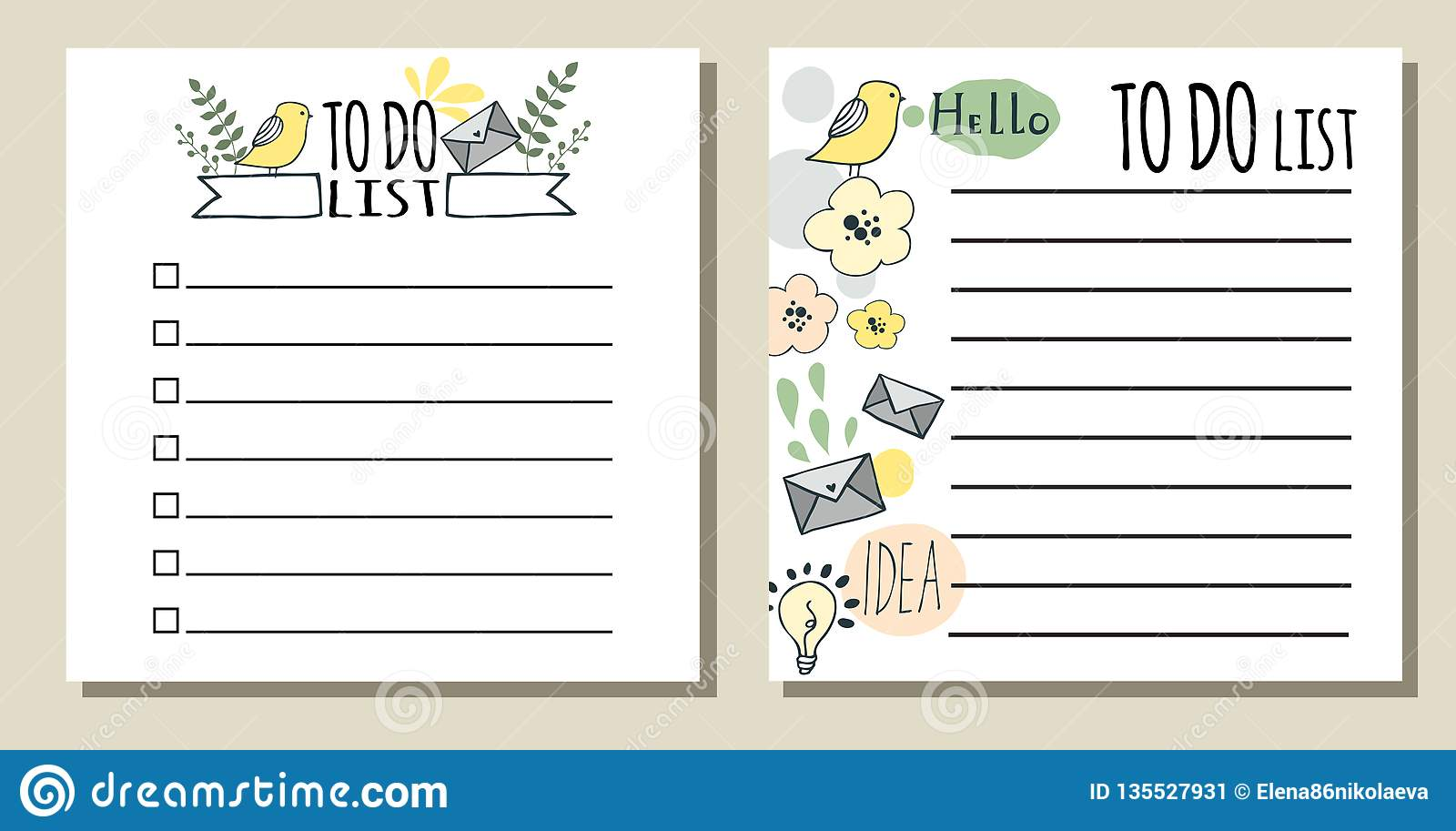 photograph about Printable Lists named In direction of Do Lists. Printable List Inventory Vector - Case in point