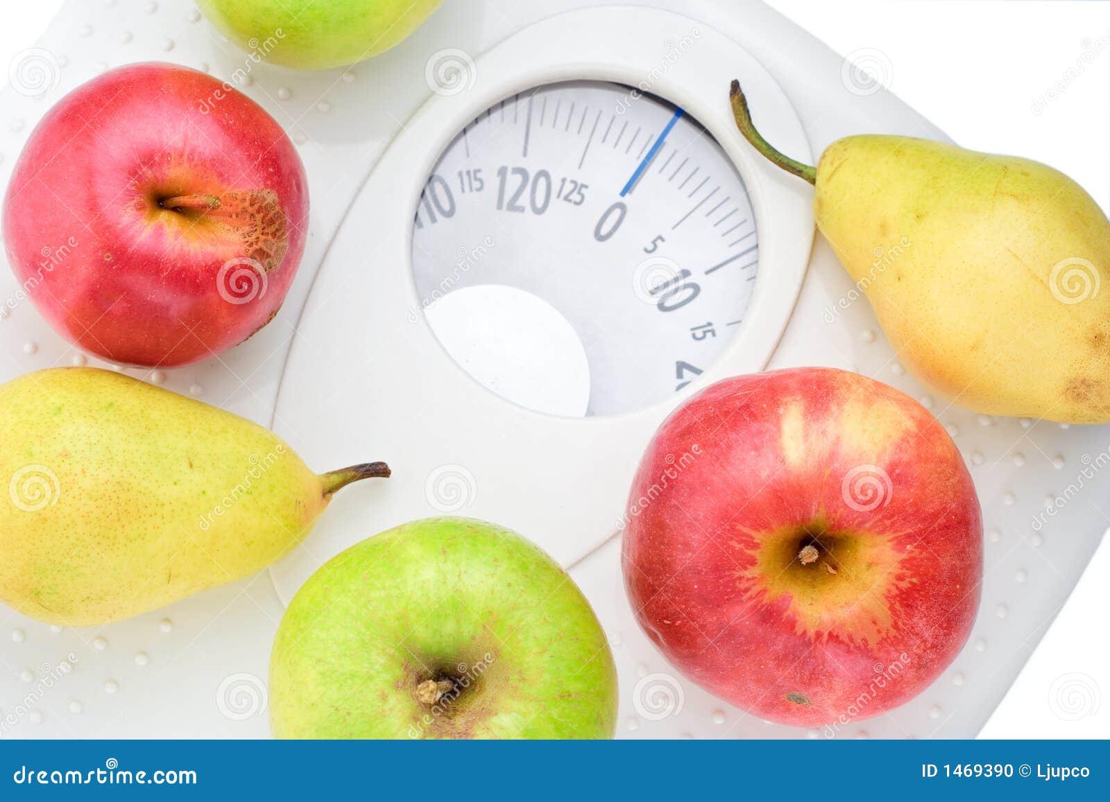 To jedzenie zdrowe luźne wagi