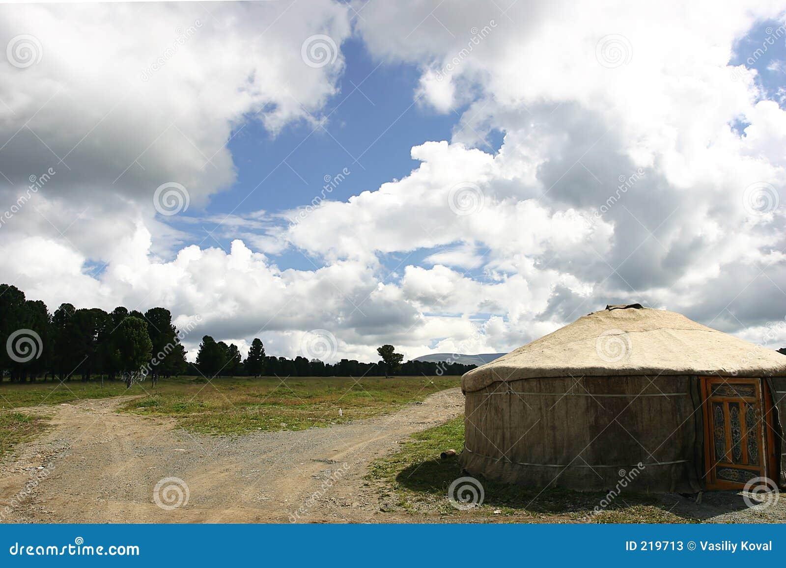 To nomad 4311 pokazuje namiot