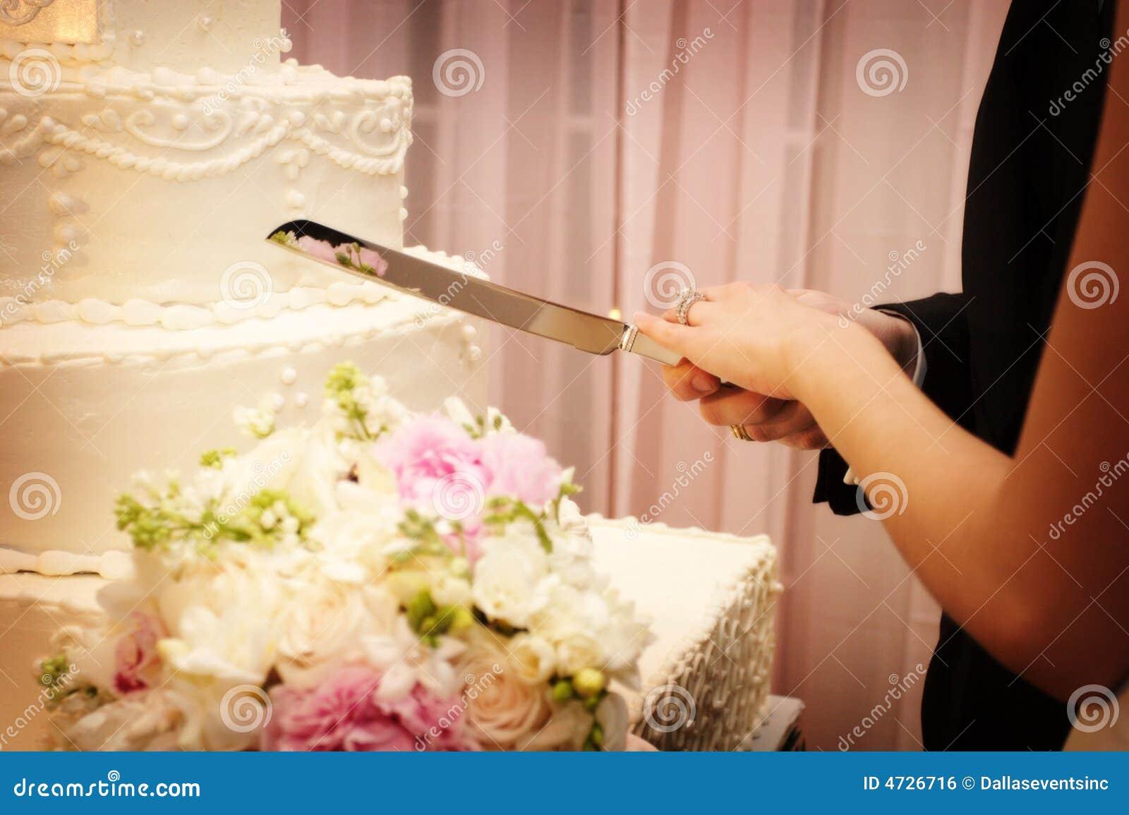 To piękny tort cut poślubić