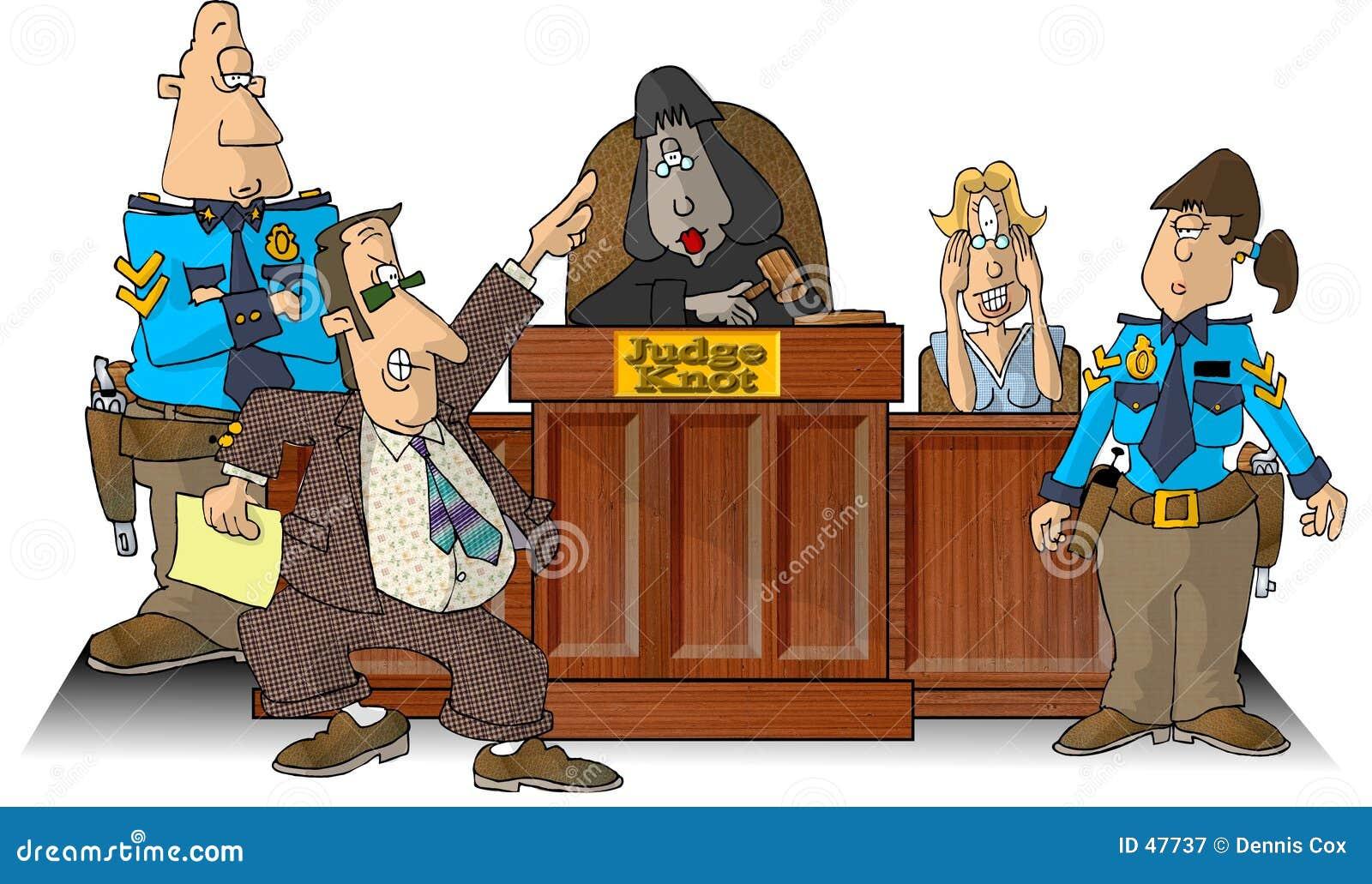 To sala sądowa
