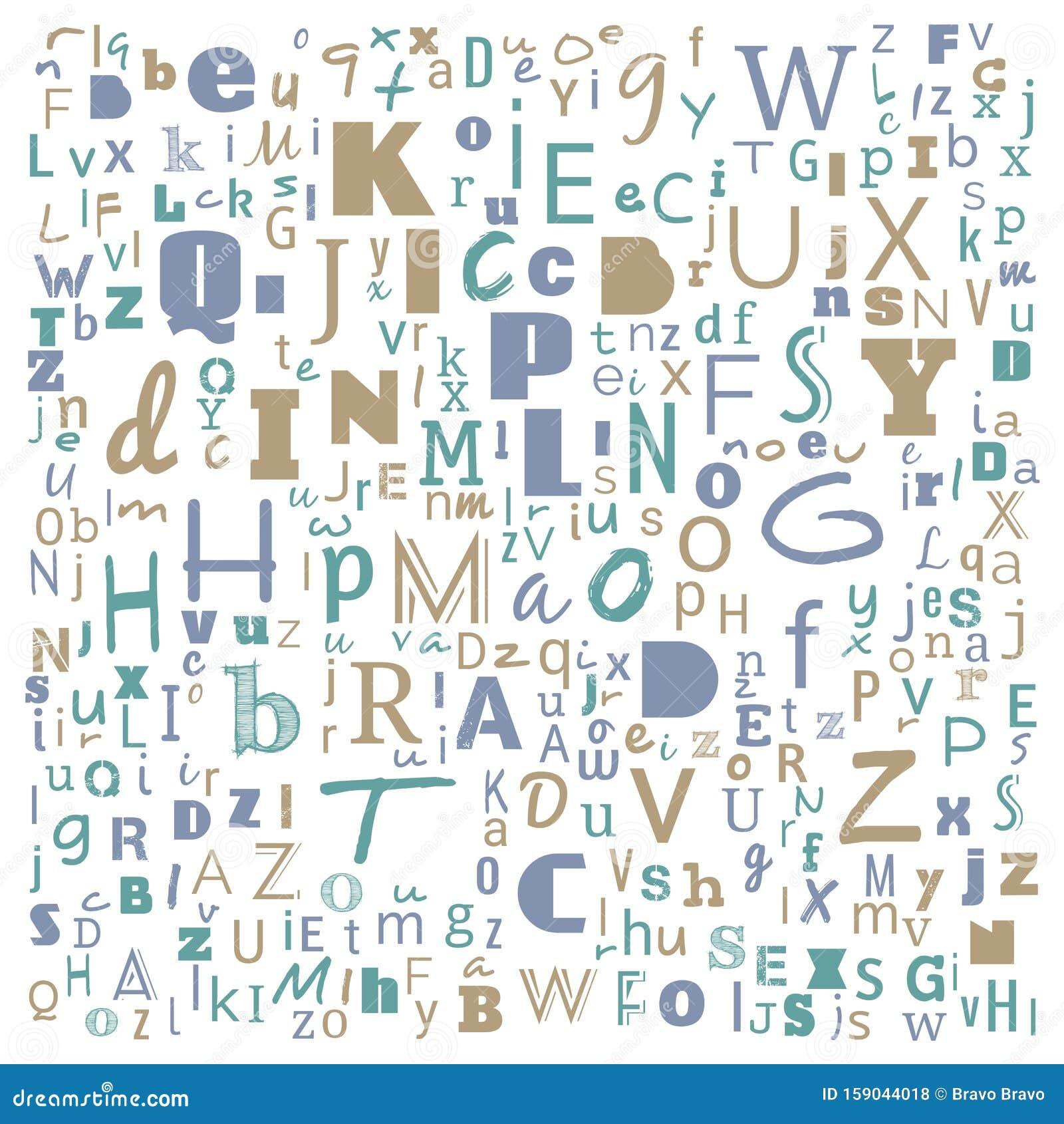 A To Z Word Cloud Multicolor Alphabet Word Cloud T Shirt