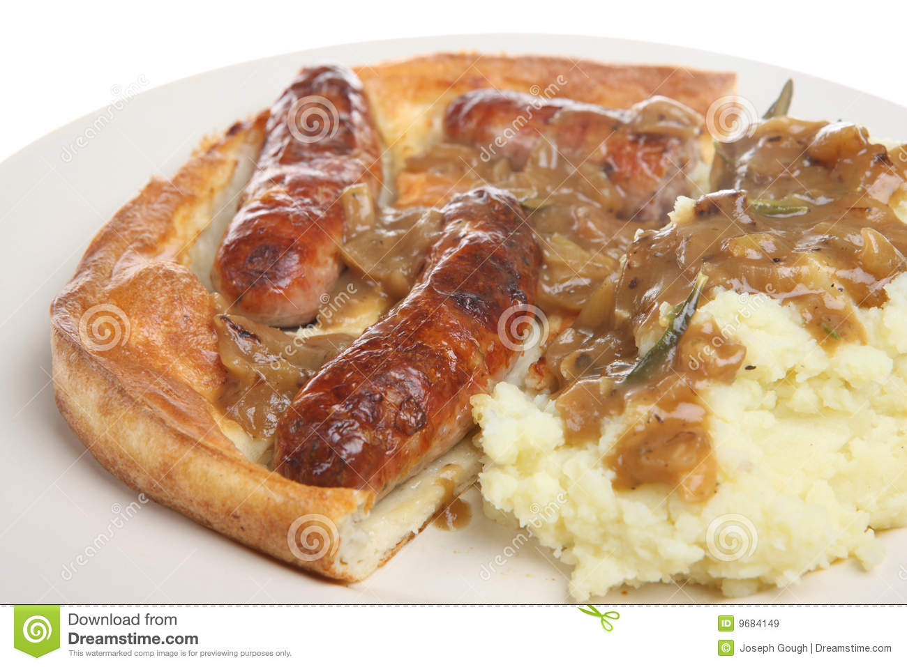 Classic English Toad-in-the-Hole Recipe — Dishmaps