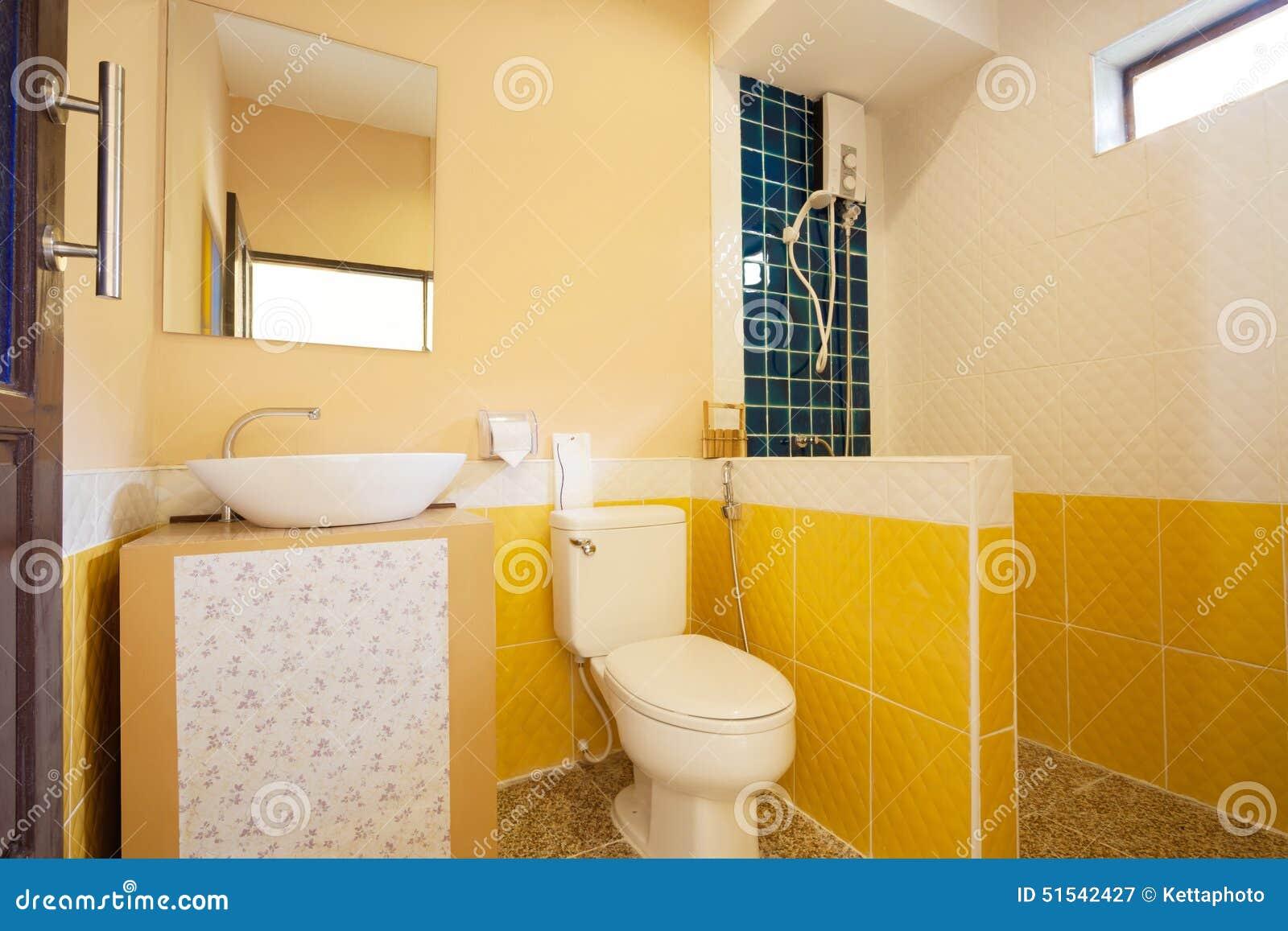 Toalett och badrum arkivfoto   bild: 51542427