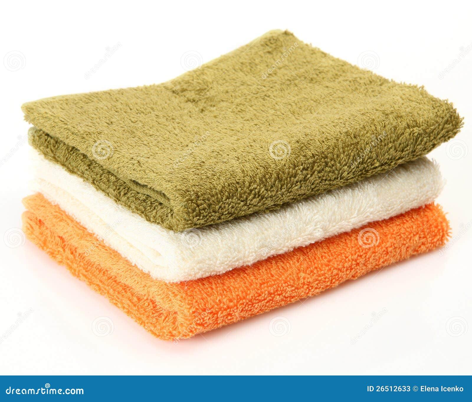 Toalhas do algodão