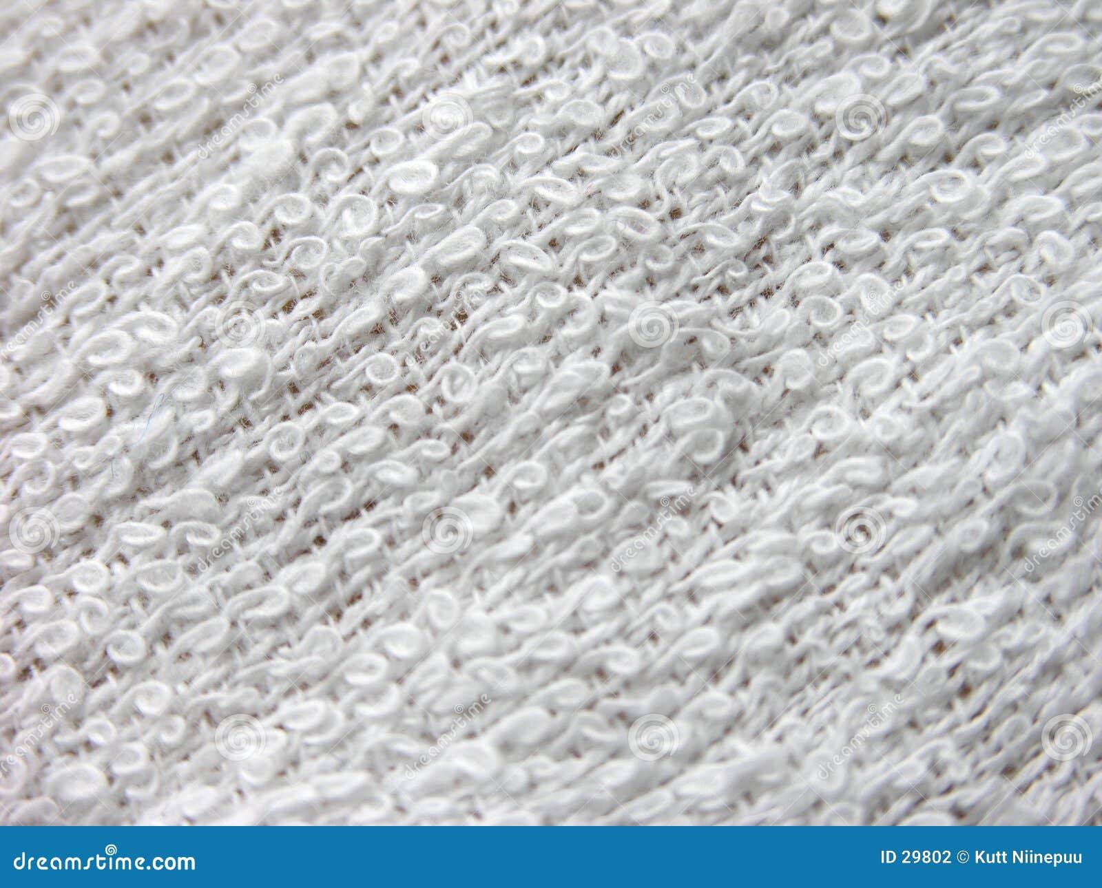 Toalla blanca