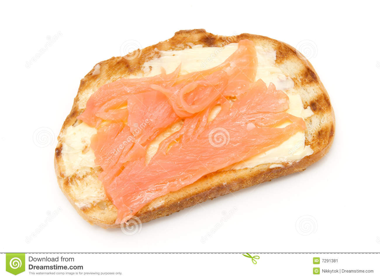 Toast bread with fish stock image image 7291381 for Fishing with bread