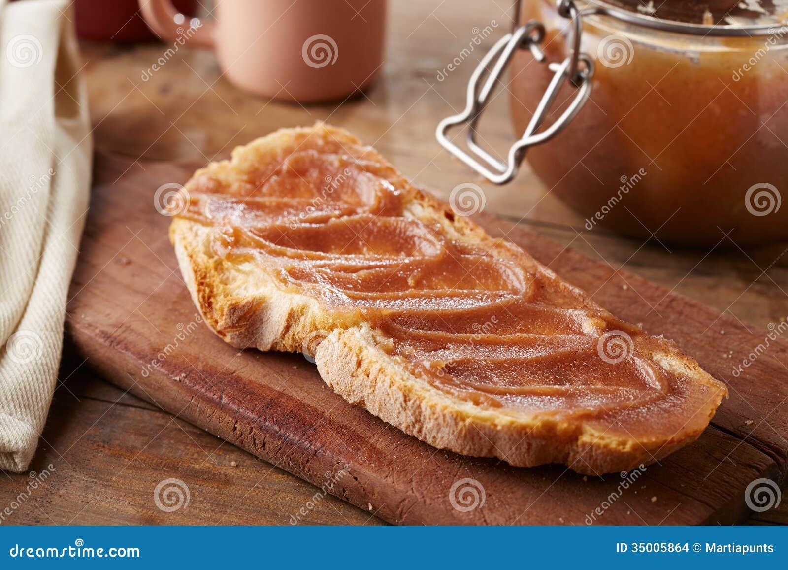toast with creme de marrons stock images image 35005864. Black Bedroom Furniture Sets. Home Design Ideas