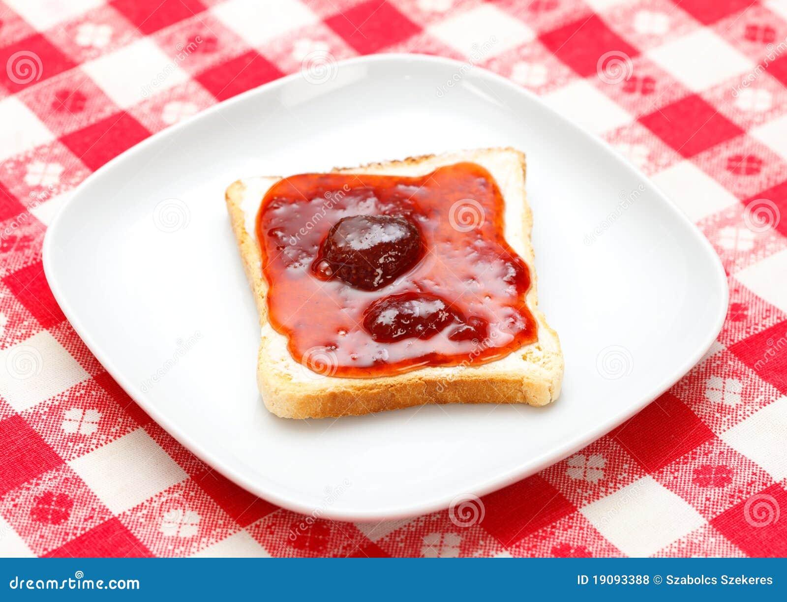 Toast mit Störung