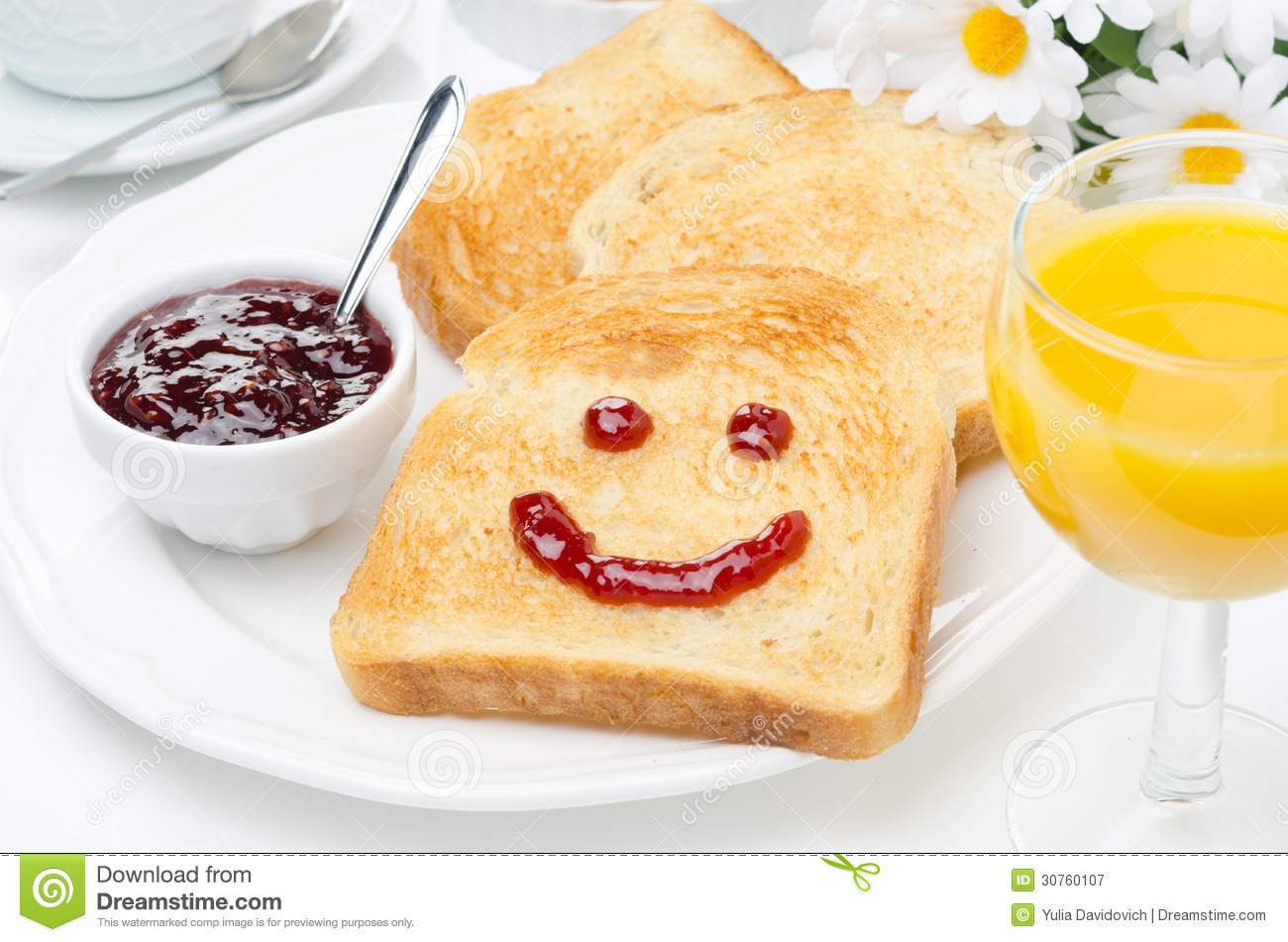 toast with a smile of jam  coffee  orange juice and fresh cycling clip art free cycling clip art