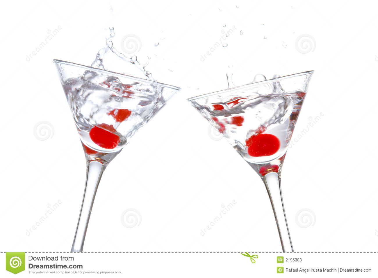 Toast with two cocktail glasse stock image image 2195383 for Christmas in a glass cocktail