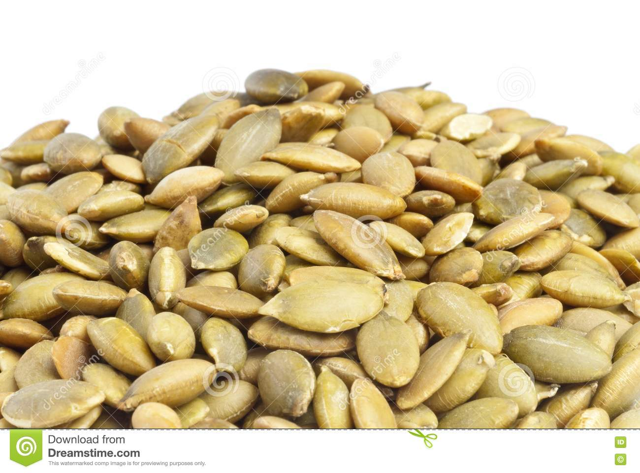 Toasted Pumpkin Seeds Royalty Free Stock Photography - Image: 19106687