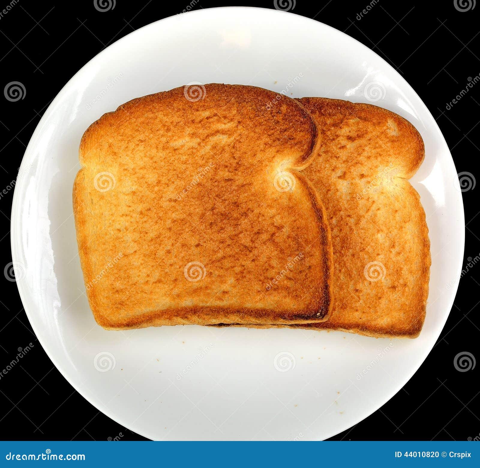 Toasted White Bread Stock Photo - Image: 44010820