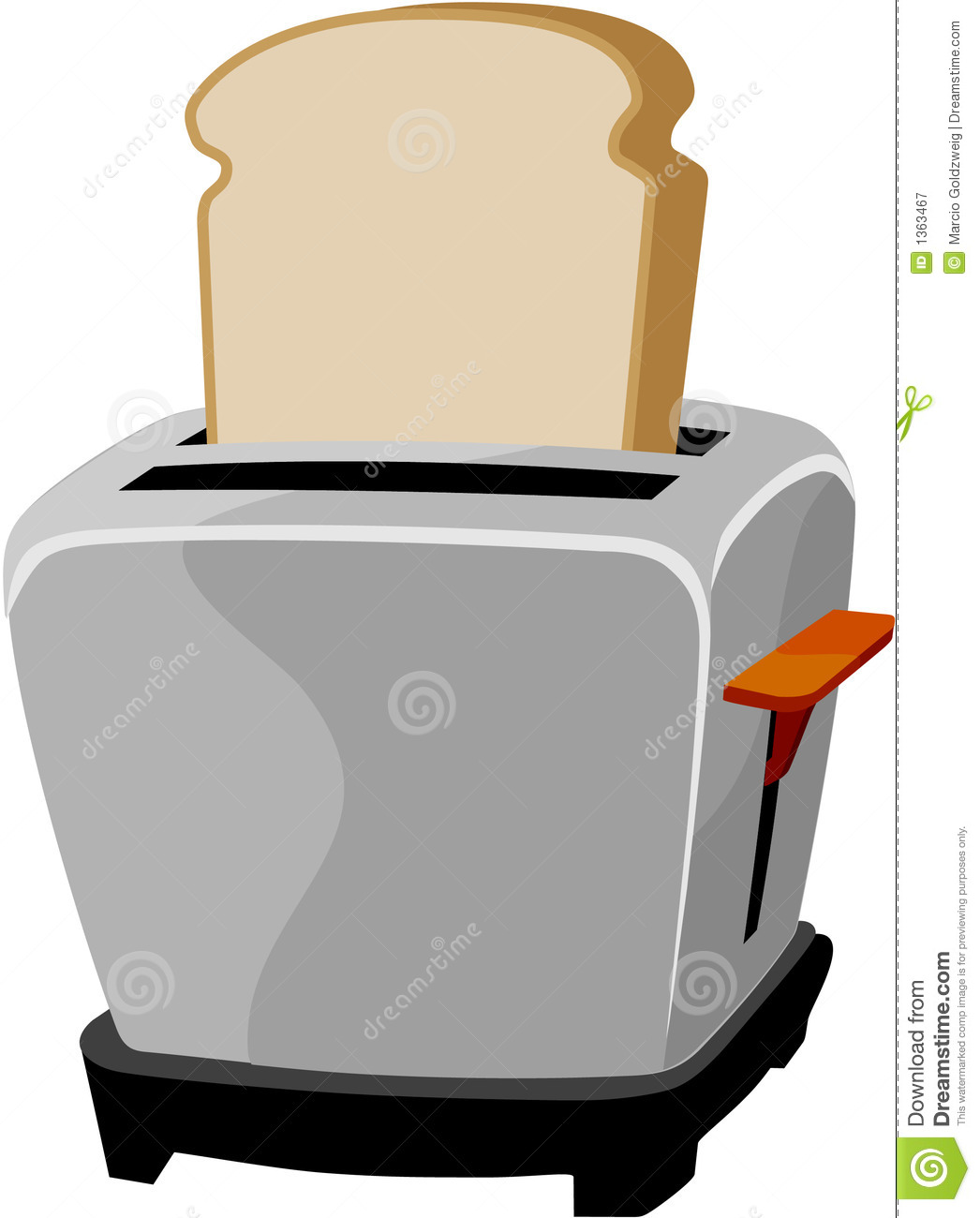 Toaster Clip Art ~ Toaster royalty free stock photography image