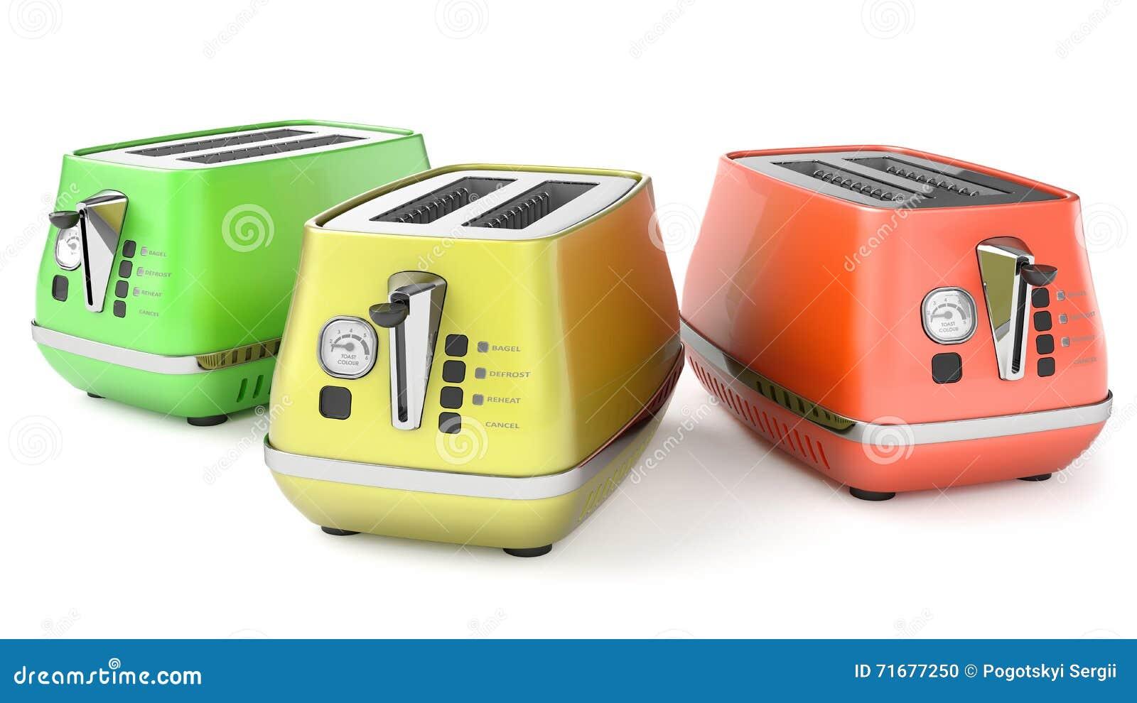 Six Toasters Royalty Free Stock Image Cartoondealer Com