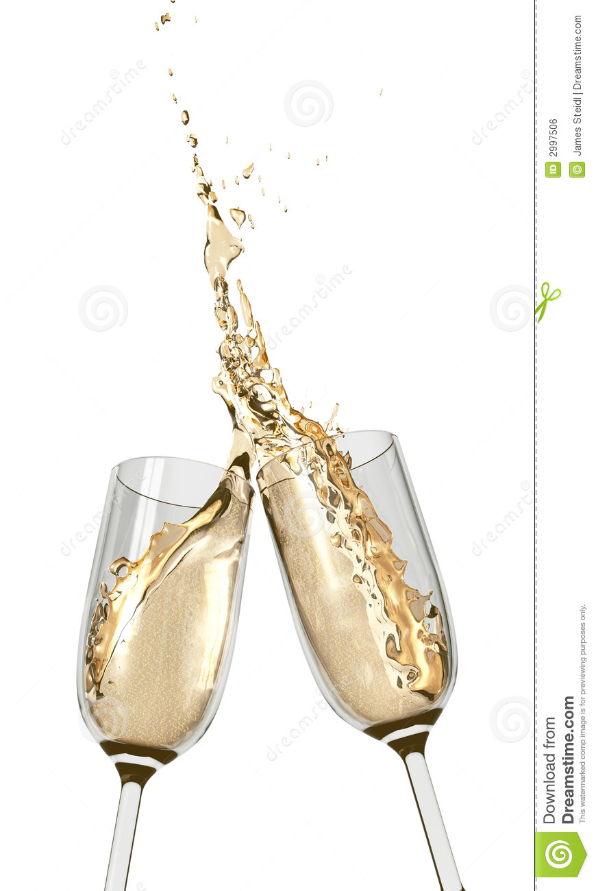 toasting champagne flutes stock photo image of chinese. Black Bedroom Furniture Sets. Home Design Ideas