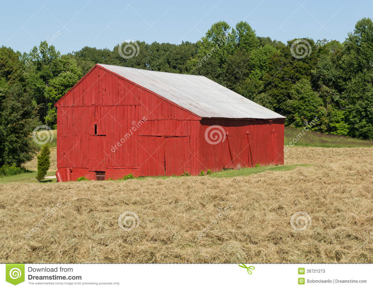 Tobacco drying barn stock photos image 26721273 for Tobacco barn house plans
