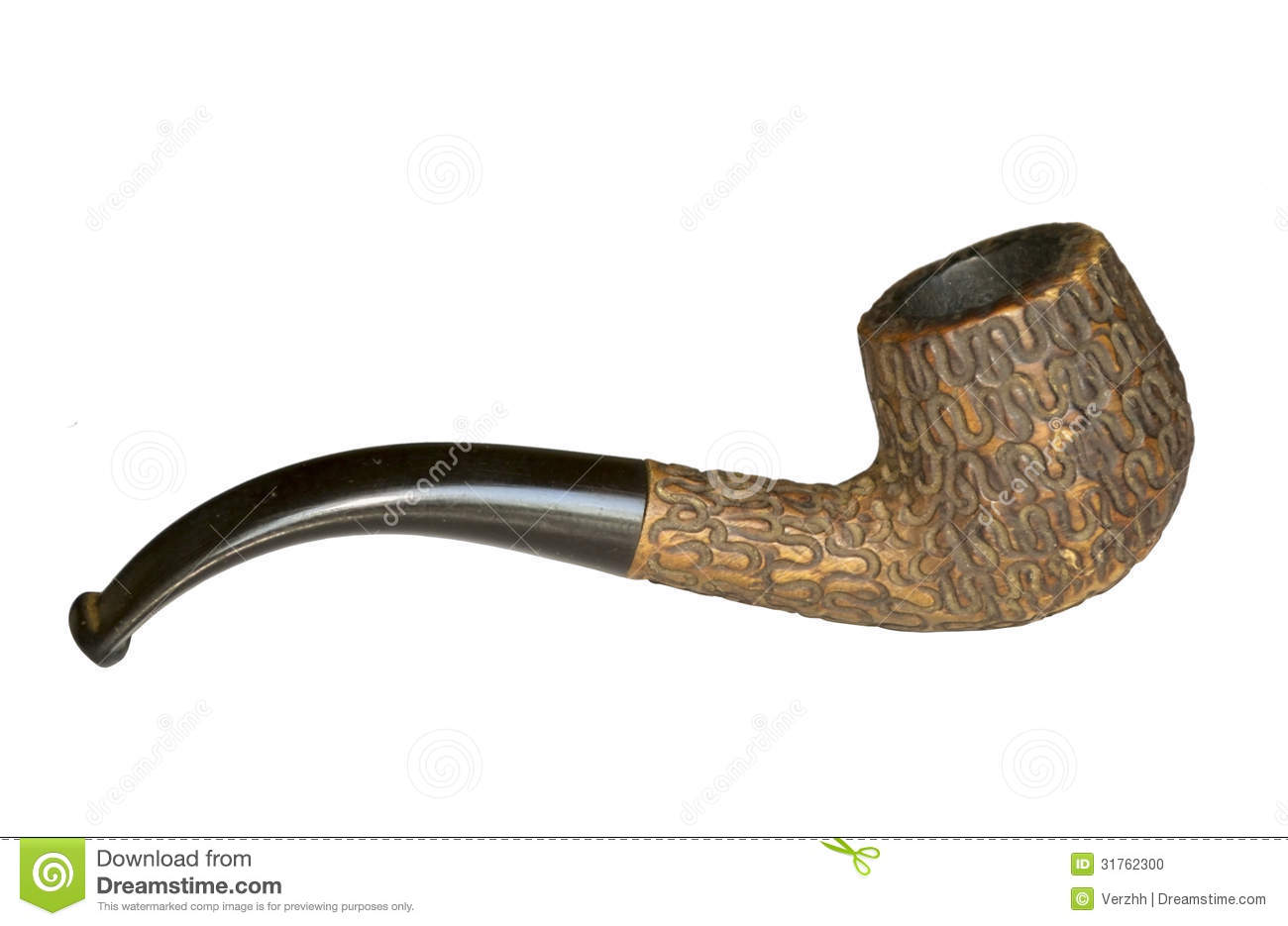 Tobacco pipe stock photo image of antique tobacco for What are old plumbing pipes made of