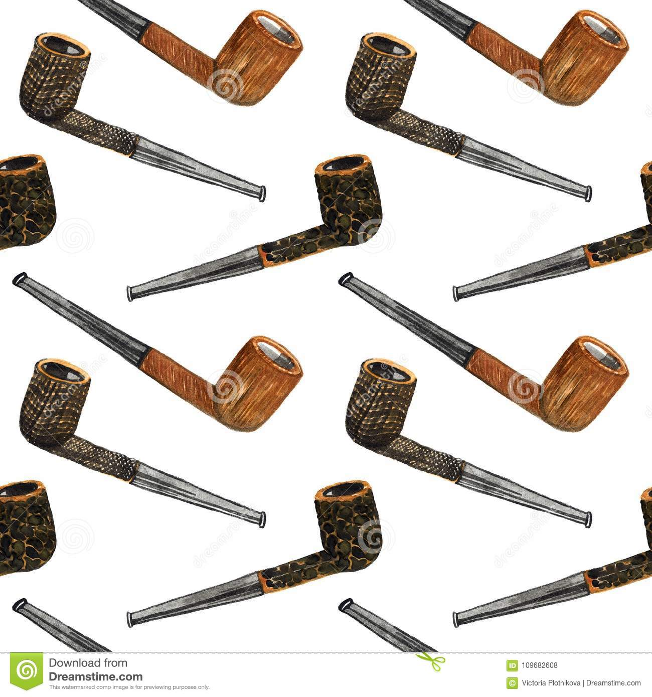 Tobacco Pipes Types Briar Processing Smooth, Sandblast And Rustic