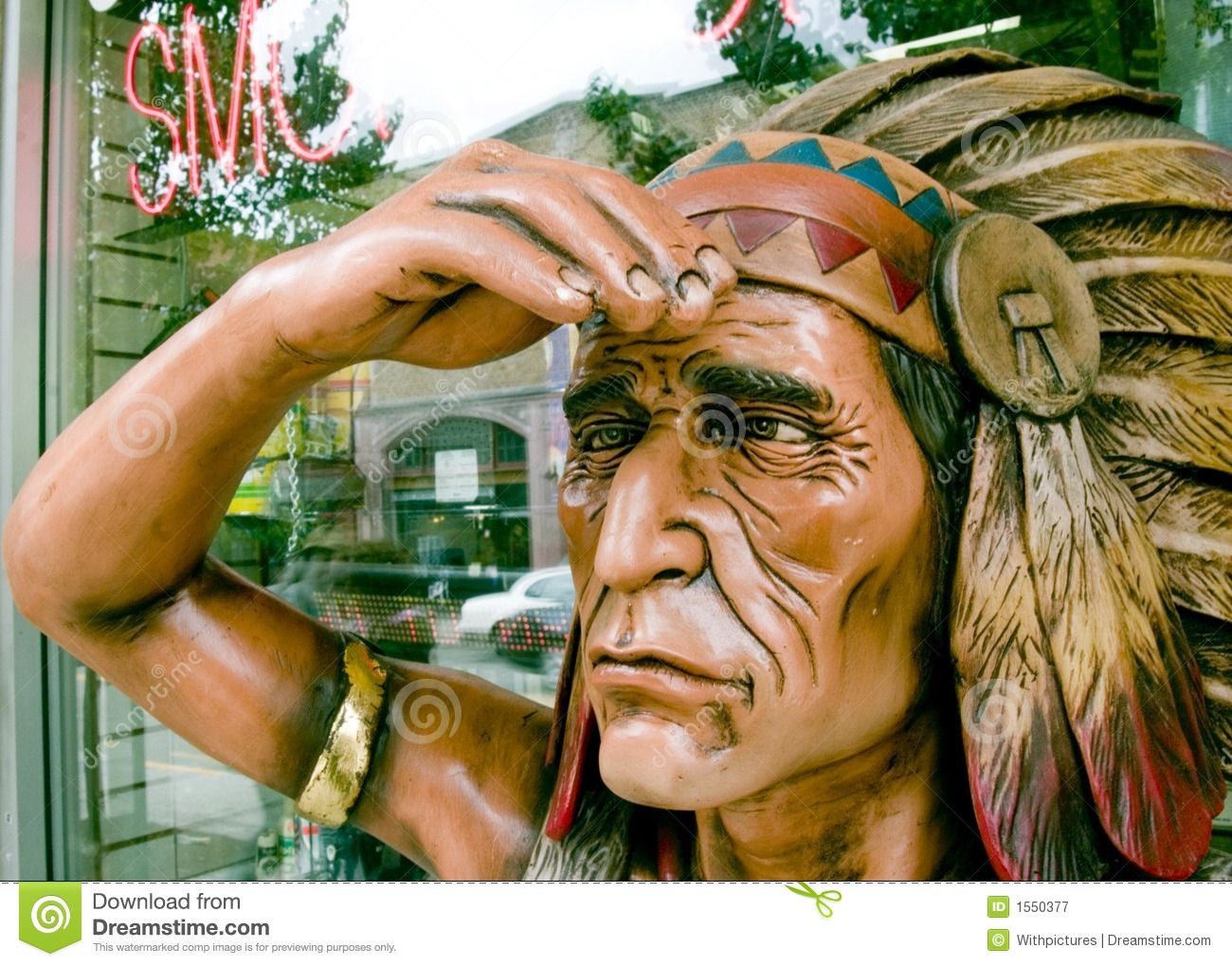 Indian Smoke Shop >> Tobacco Shop Indian Stock Image Image Of Smoking Native