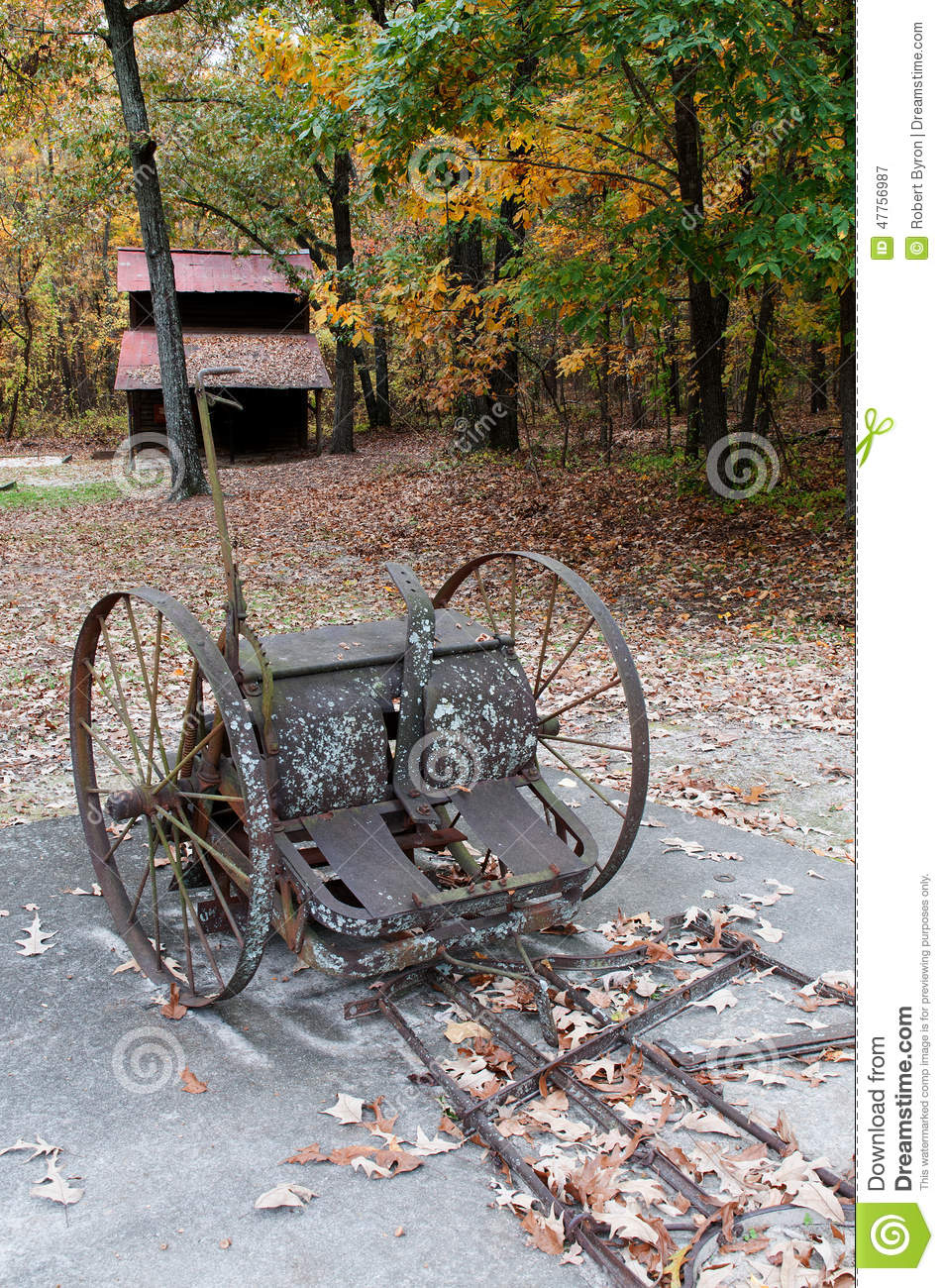 Tobacco stalk cutter stock image image of outdoors for Vintage horseshoes for sale