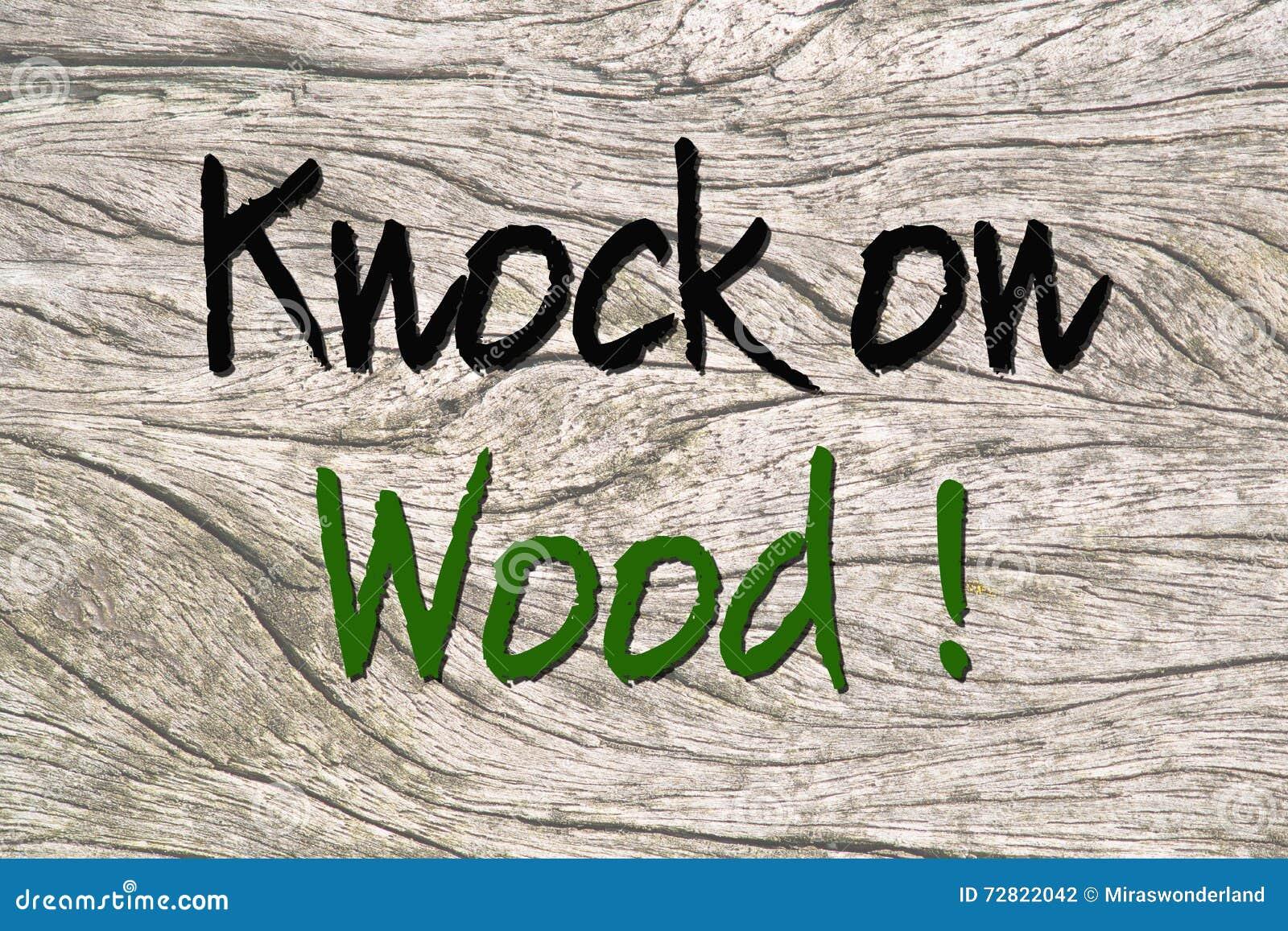Tocchi ferro su legno