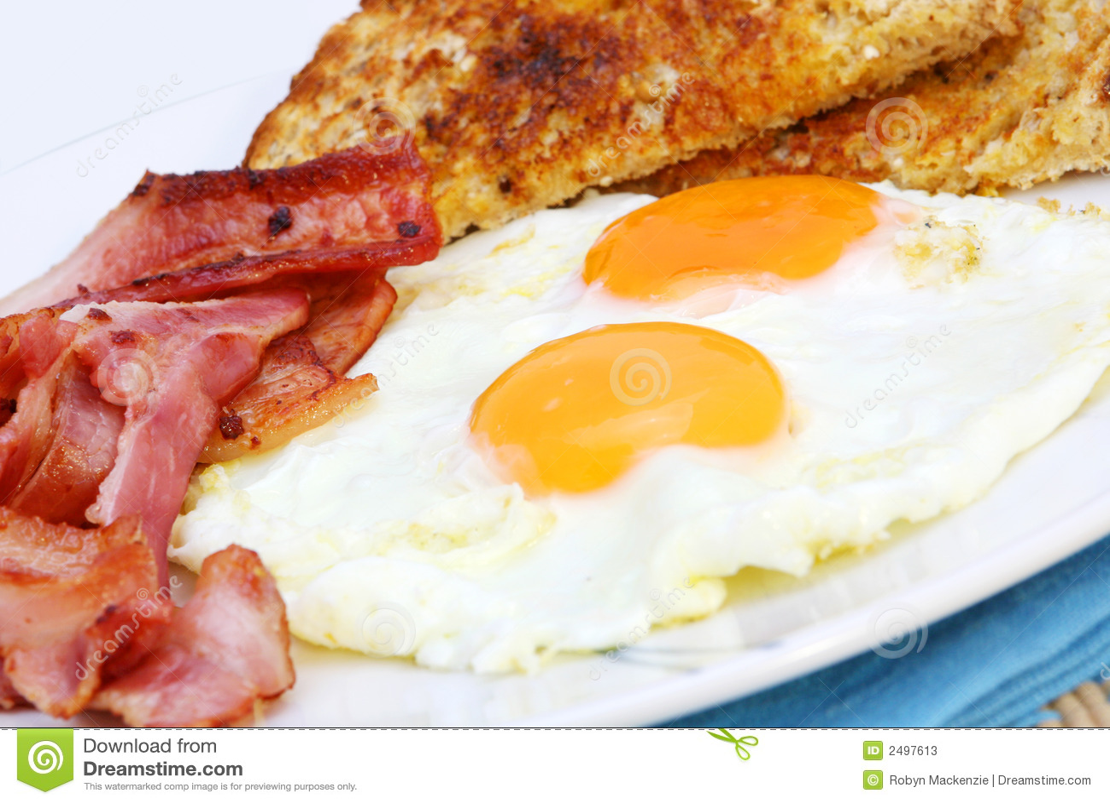 Huevos Con Tocino Tocino y huevos