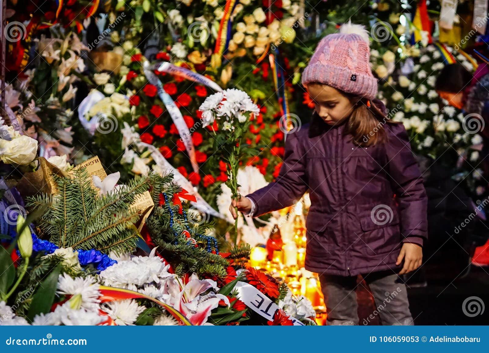 Tod-comemoration von König Mihai von Rumänien